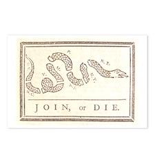 Join or Die Postcards (Package of 8)