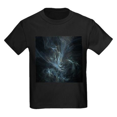 Flame Fractal Kids Dark T-Shirt