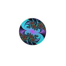 Fractal Art Mini Button