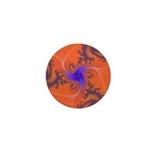 Fractal Mini Button