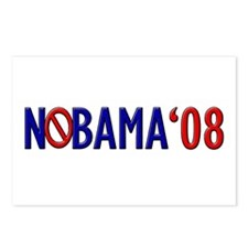 Nobama '08 2 Postcards (Package of 8)