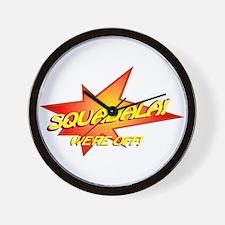 Squadala Wall Clock