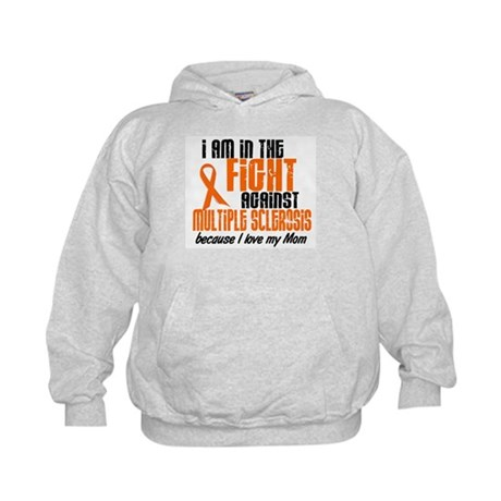 In The Fight Against MS 1 (Mom) Kids Hoodie