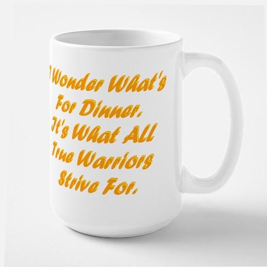 Dinner Large Mug