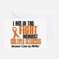 In The Fight Against MS 1 (Mother) Greeting Card