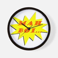 Mah Boi Wall Clock