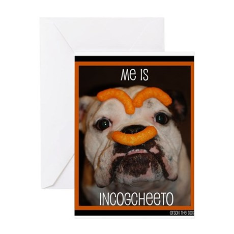 Orson Cheeto Greeting Cards