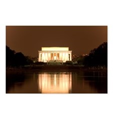 Lincoln Memorial, Washington, DC - Postcards
