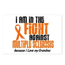 In The Fight Against MS 1 (Grandma) Postcards (Pac