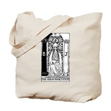 The High Priestess Rider-Waite Tarot Card Tote Bag