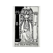 The High Priestess Rider-Waite Tarot Card Rectangl