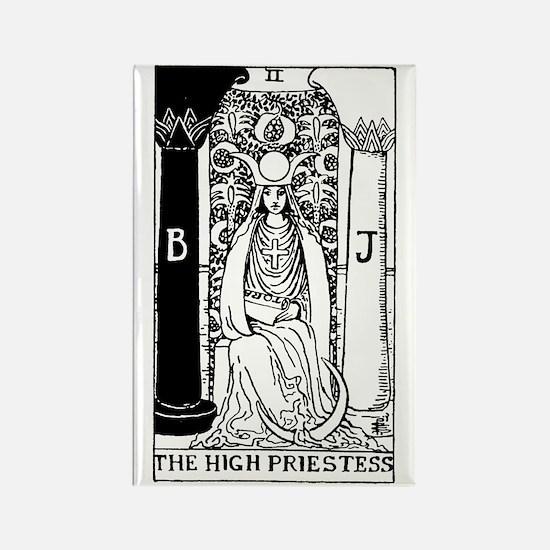 The High Priestess Rider-Waite Tarot Card Rectangl