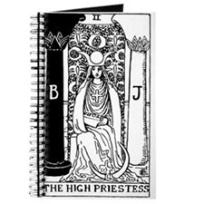 The High Priestess Rider-Waite Tarot Card Journal