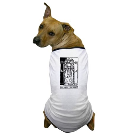 The High Priestess Rider-Waite Tarot Card Dog T-Sh