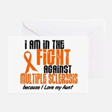 In The Fight Against MS 1 (Aunt) Greeting Cards (P