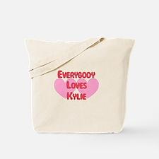Everybody Loves Kylie Tote Bag