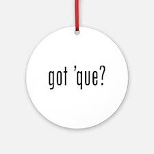got 'cue? Ornament (Round)