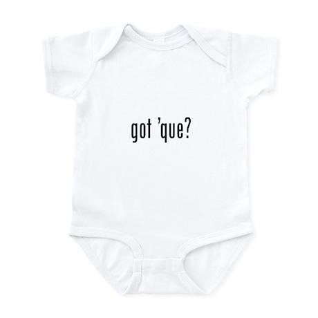 got 'cue? Infant Bodysuit