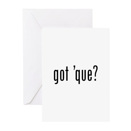 got 'cue? Greeting Cards (Pk of 10)