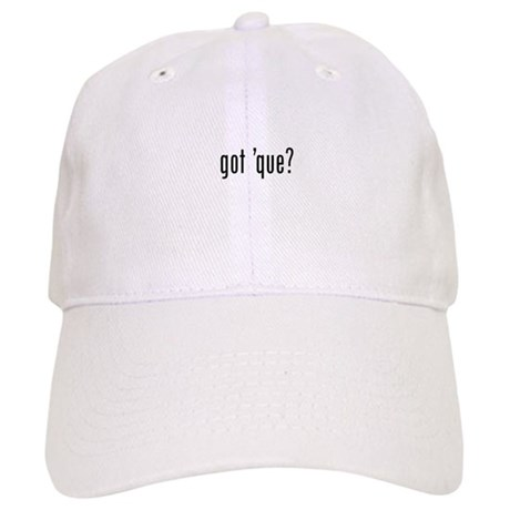 got 'cue? Cap