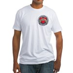 American Tattoo Heart Fitted T-Shirt