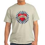 American Tattoo Heart Light T-Shirt