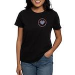 I Love Heart America Women's Dark T-Shirt