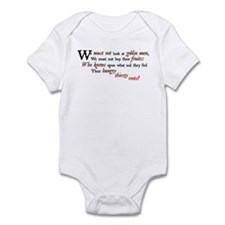 Don't look at Goblin Men Infant Bodysuit