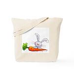 Bunnies Love Carrots Tote Bag