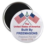 Masonic 4th of July Magnet