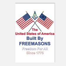 Masonic 4th of July Postcards (Package of 8)