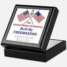 Masonic 4th of July Keepsake Box