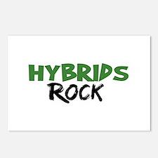 Hybrid Cars Rock Postcards (Package of 8)