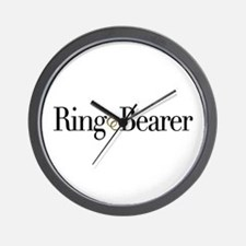 Ring Bearer Wall Clock