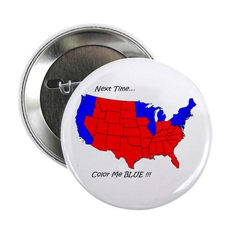 """Color Me Blue 2.25"""" Button (10 pack)"""