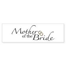 Mother of the Bride (Wedding) Bumper Bumper Sticker