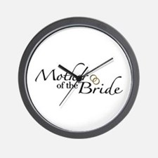 Mother of the Bride (Wedding) Wall Clock
