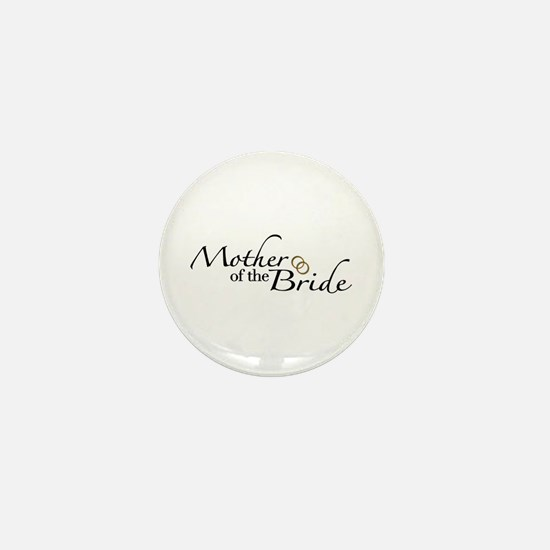 Mother of the Bride (Wedding) Mini Button