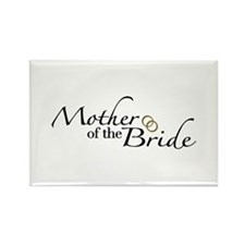 Mother of the Bride (Wedding) Rectangle Magnet
