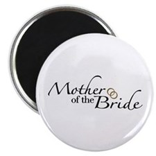 """Mother of the Bride (Wedding) 2.25"""" Magnet (10 pac"""