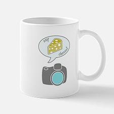 Camera Says Cheese Mug