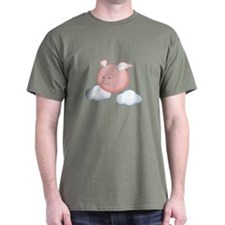 Sky Flying Pig T-Shirt