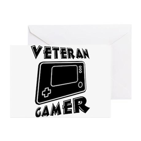 Veteran Gamer Greeting Cards (Pk of 20)
