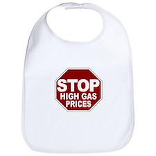 Stop High Gas Prices Bib