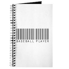 Baseball Player Barcode Journal