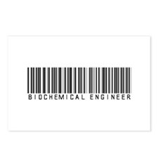 Biochemical Engineer Barcode Postcards (Package of