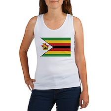 Flag of Zimbabwe Women's Tank Top