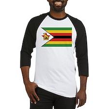 Flag of Zimbabwe Baseball Jersey