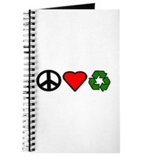 Peace Love Recycling Journal