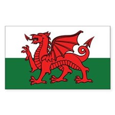 Flag of Wales Decal